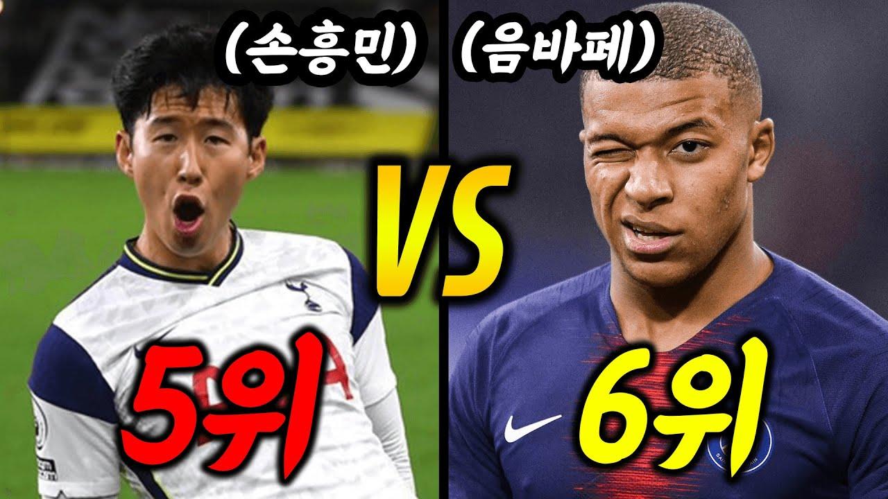 이시대 최고의 공격수 순위 TOP7