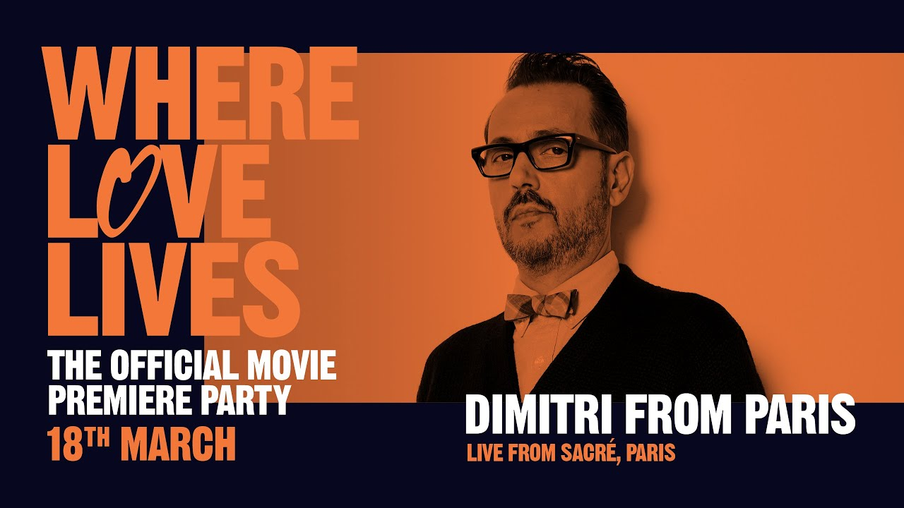 Download Dimitri From Paris - live from Sacré, Paris (Glitterbox: Where Love Lives)