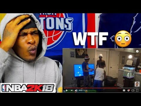 Thumbnail: Kid cries and Fight his Brother for Breaking NBA 2K18
