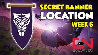 Fortnite Season 8 - Secret Banner Location - Week 6 Loading Screen