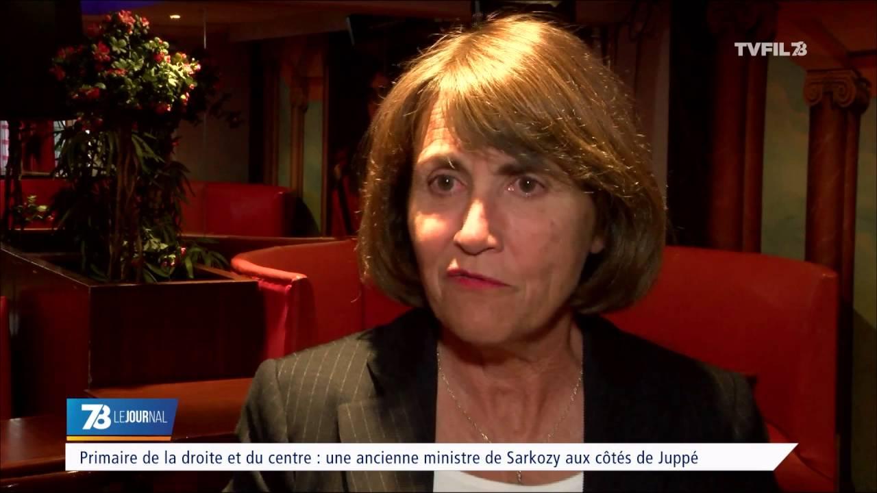 Primaire de la droite et du centre : une ancienne ministre de Sarkozy aux côtés de Juppé