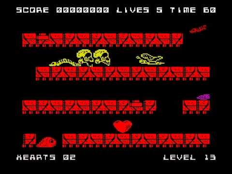 Slug Walkthrough, ZX Spectrum
