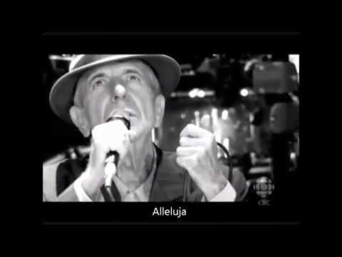 Hallelujah  - Leonard Cohen (sottotitolato)