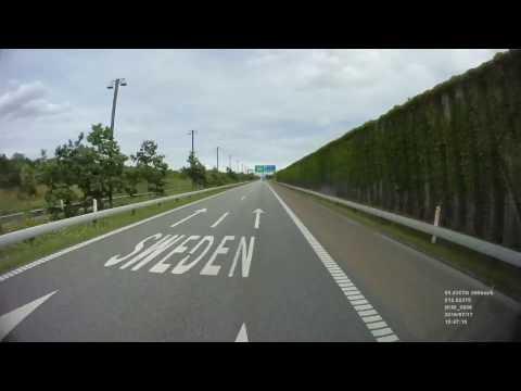 [Hyperlapse] E20 - Øresund Bridge
