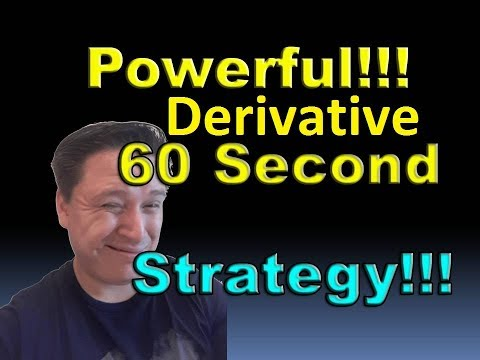 Derivative 60 Seconds Strategy