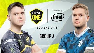 CS:GO - NaVi vs. Team Liquid [Dust2] Map 1 - Group A - ESL One Cologne 2019