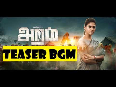 Aramm Teaser - Nayanthara | Ghibran BGM