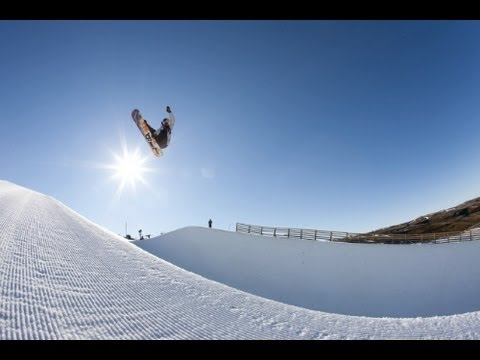Snowboard Session with 17-Year-Old Scotty James - New Zealand
