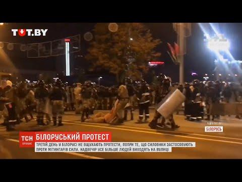 Мітингарів у Білорусі