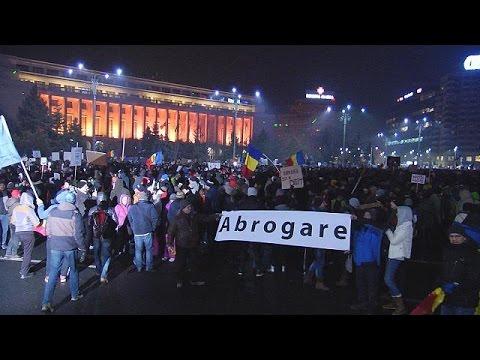 Многотысячные протесты в Румынии: люди против коррупции