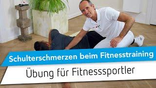Schulterschmerzen beim Krafttraining // Schulterschmerzen im Fitness Training / Bankdrücken