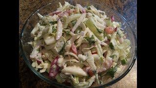 Салат из Свежей Капусты. Вкусно и Просто