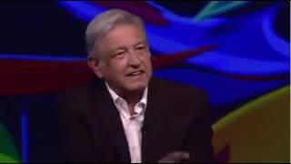 Hace unas horas: Andrés Manuel López Obrador en la entrevista con Sarmiento y Ricardo Rocha.