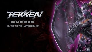 Evolution of Tekken Bosses: 1994-2015 (OLD)