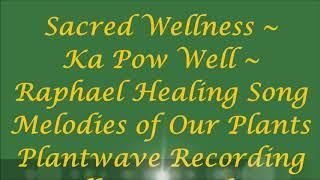 Sacred Wellness ~ KA POW WELL ~ Raphael Healing Song Full Moon Eclipse Nov 2020
