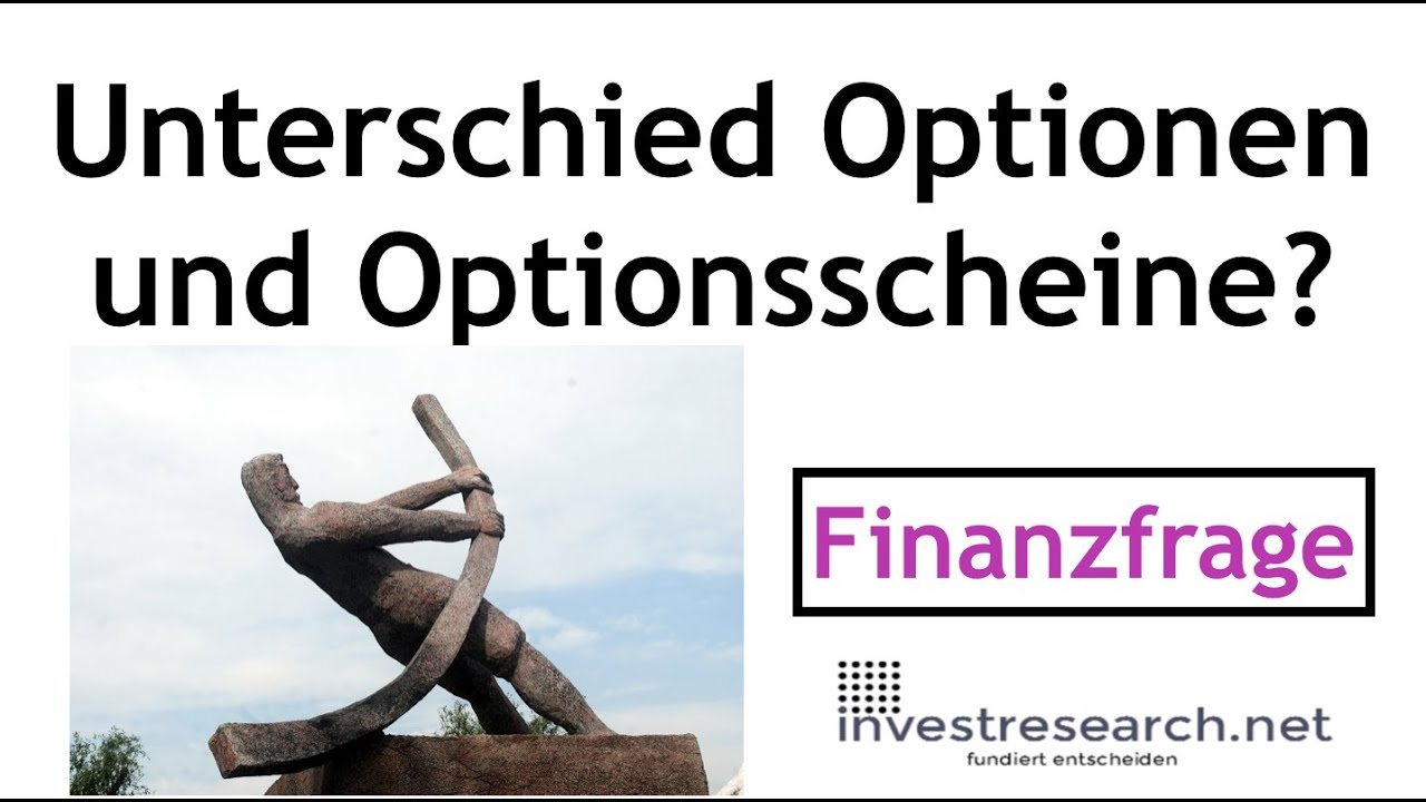 Unterschied Option Und OptionГџchein