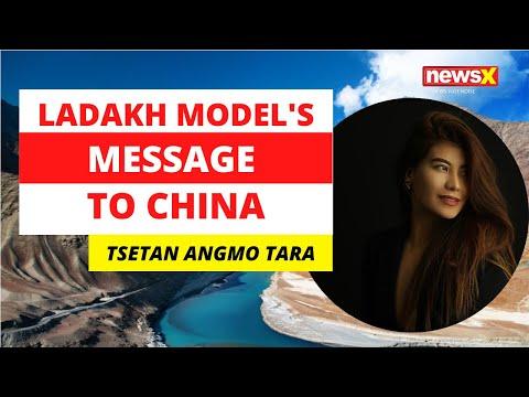 Ladakhi Model's Message To China   NewsX