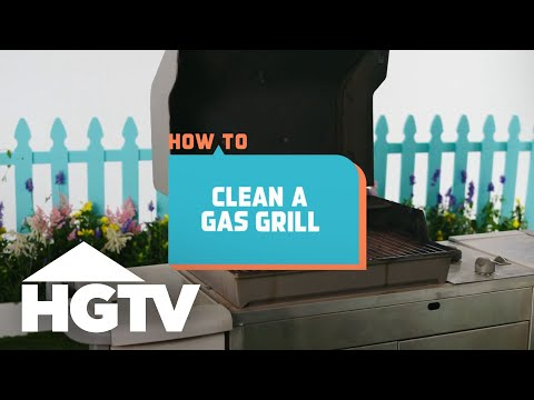 How to Clean a Gas Grill - How to House - HGTV