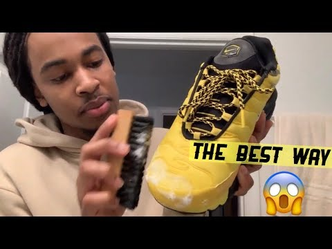 How To Clean Nike Air Max Plus