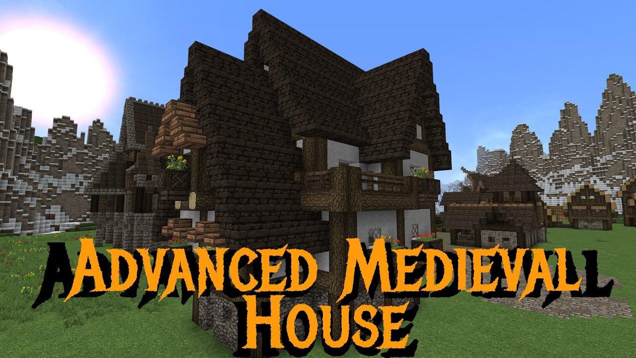 Minecraft - Gundahar Tutorials - Advanced Medieval House 2 ...