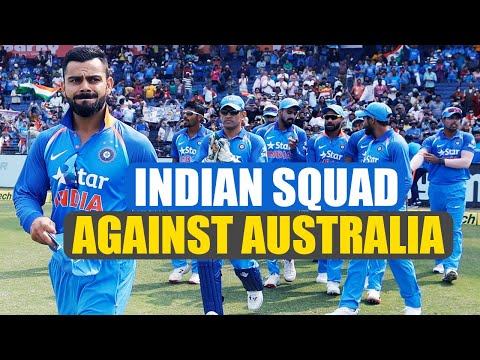 India vs Australia : BCCI announces India Squad, Ashwin Jadeja out | Oneindia News