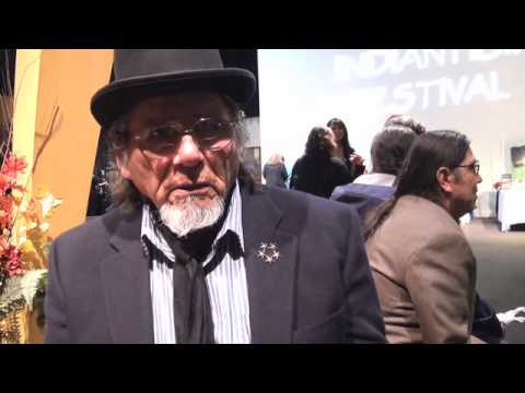 Dennis Banks at the 2010 American Indian Film Festival