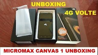 Micromax Canvas 1 Unboxing and First Look
