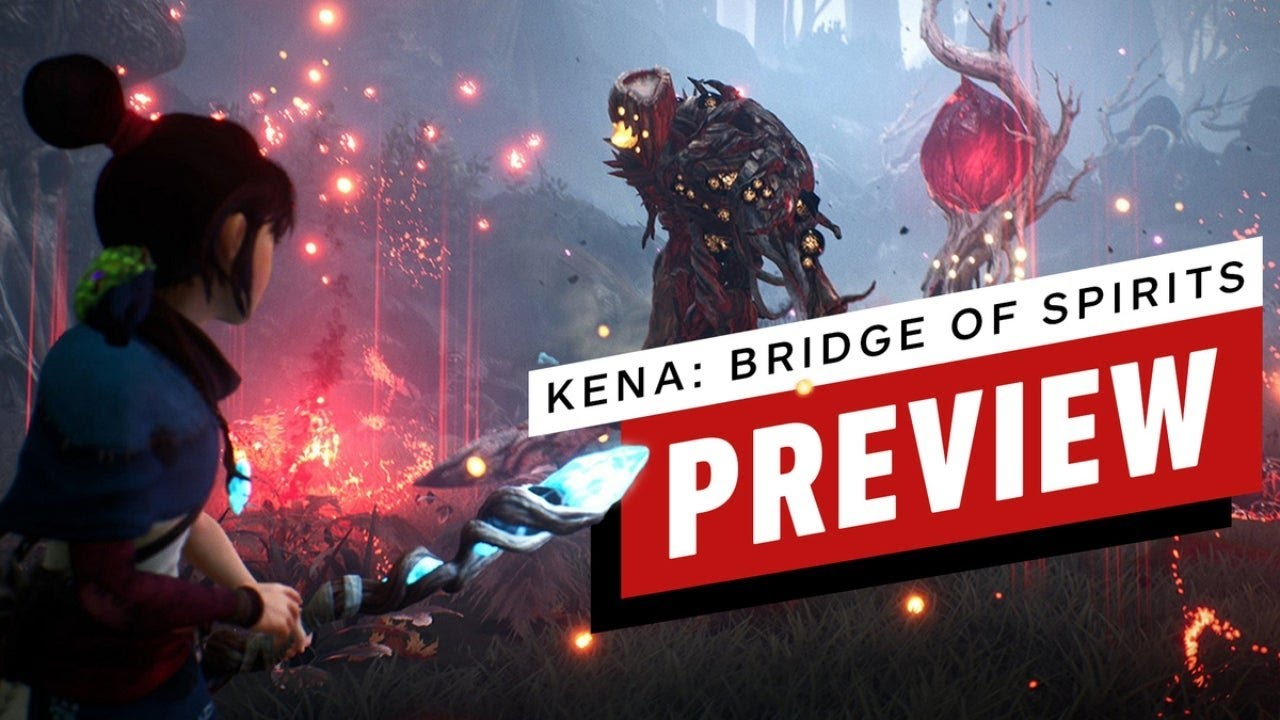 Kena: Bridge of Spirits Blends God of War, Horizon, and Pikmin With Pixar-Level Animation - IGN