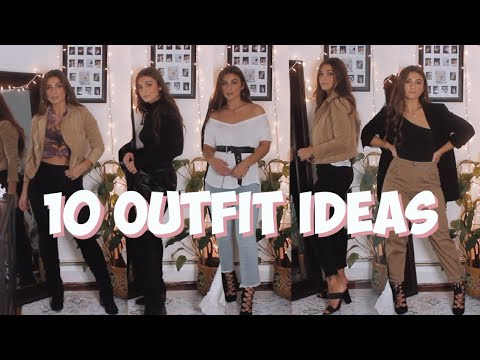 [VIDEO] - DAY TO NIGHT OUTFIT IDEAS | 10 Looks Total | MELINDA BROOKE 2