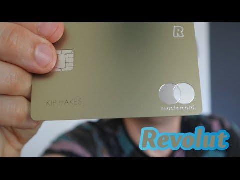 Revolut GOLD! A quick look at the NEW Revolut Gold Metal Card