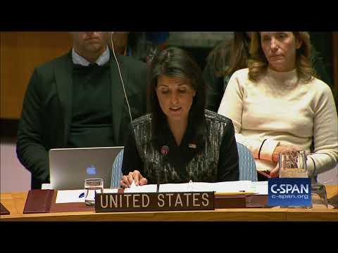 U.N. Ambassador Nikki Haley on Iran Protests (C-SPAN)