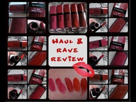 bourjois-rouge-edition-velvet-matte-lipstick-haul-and-review