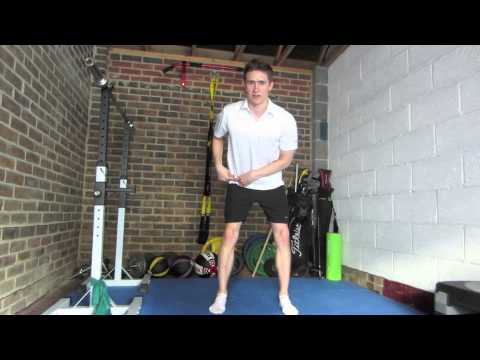 TPI Golf Fitness: Hip Mobility (Internal Rotation)