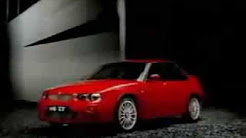 MG Rover Group - MG ZR, ZS and ZT Launch Advertisement