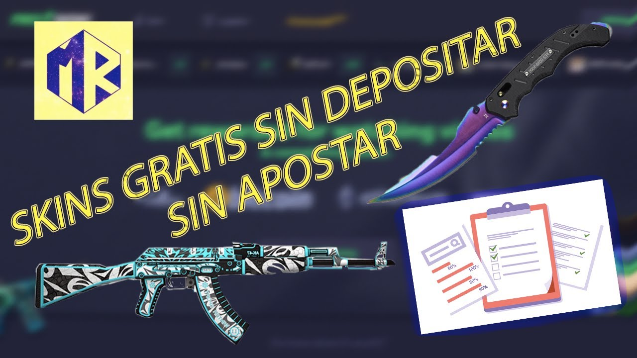 Gana SKINS GRATIS csgo SIN DEPOSITO ✅ SIN APOSTAR | Nueva Página