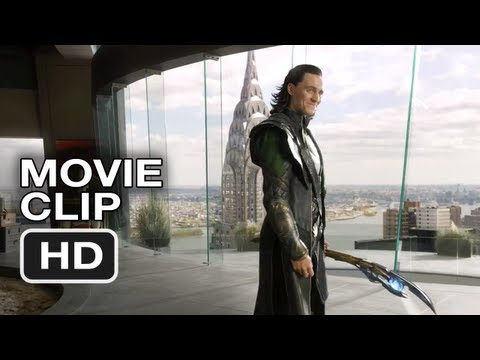 The Avengers #1 Movie CLIP - Loki