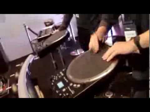 Kraft Music - Roland HPD-20 HandSonic Electronic Hand Drum NAMM 2014