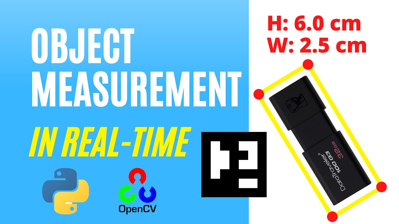 Measure the size of an object   with Opencv, Aruco marker and Python
