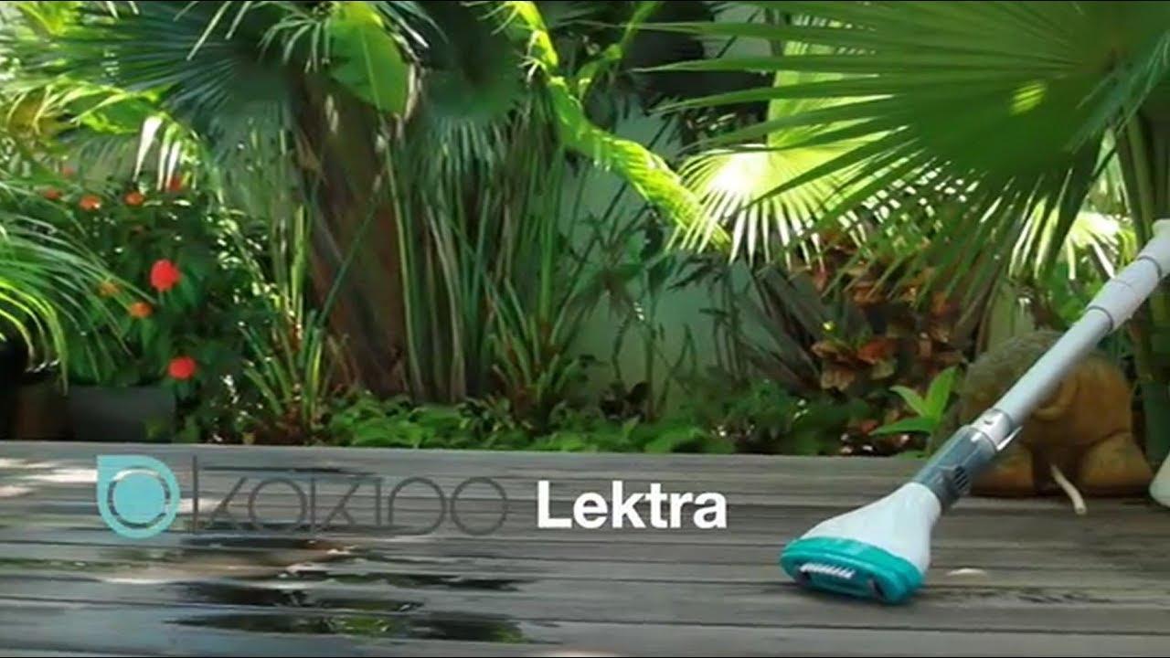 Aspirateur de piscine kokido lektra raviday piscine youtube - Raviday piscine ...