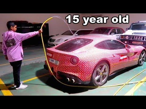 DUBAI'S RICHEST KID CAR COLLECTION !!!