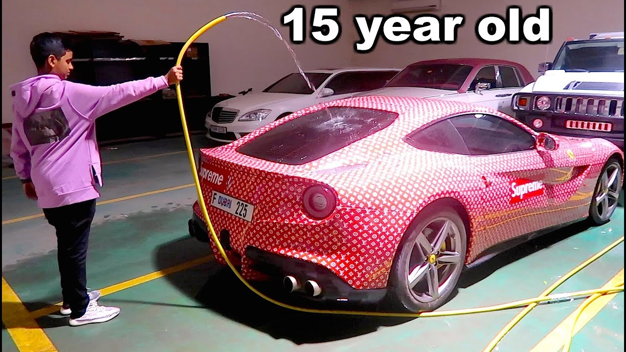 Richest Kid In Dubai >> Dubai S Richest Kid Car Collection Youtube