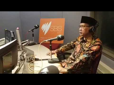 Haedar Nashir, 212 dan reuni 212, Radio SBS Australia