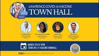 Lawrence COVID-19 Vaccine Town Hall / Foro Comunitario Sobre las Vacunas Contra el COVID-19
