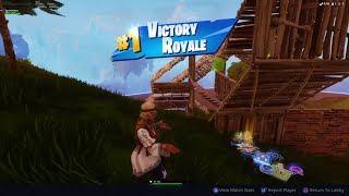 Victory With The *NEW* Dreamflower Skin - Fortnite Battle Royale