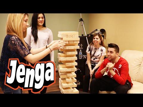 """Jenga """"Makeup Challenge"""" Edition!"""