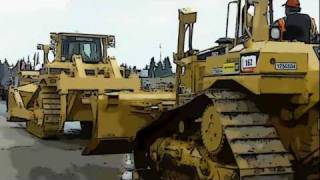 Cartoon heavy equipment auction - Olympia WA Sept 2011