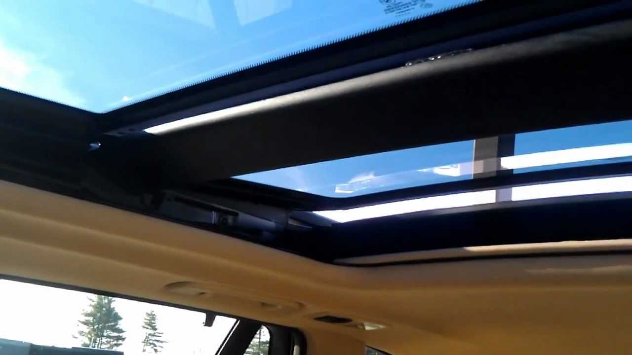 2012 Bmw X5 Moonroof Does Not Close Properly Youtube