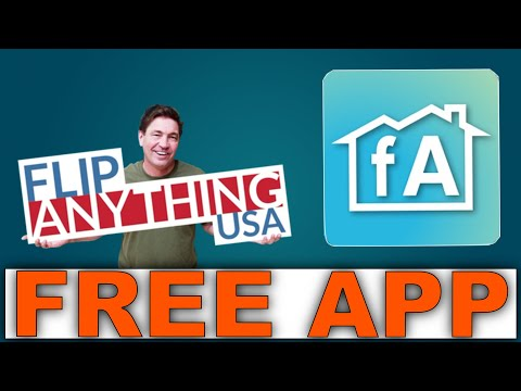 FlipAnything App Demo.The real Estate investor app anyone can use to make money with & its Free!