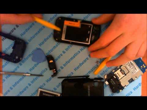 APRILE 2012 ANDROID Smontare Samsung C3300K Champ e sostituzione case frontale