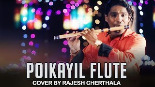 Its a tribute to great raveendran master.!!!! poikayil flute cover by rajesh cherthala from the malayalam movie rajasilpi.music master. k...